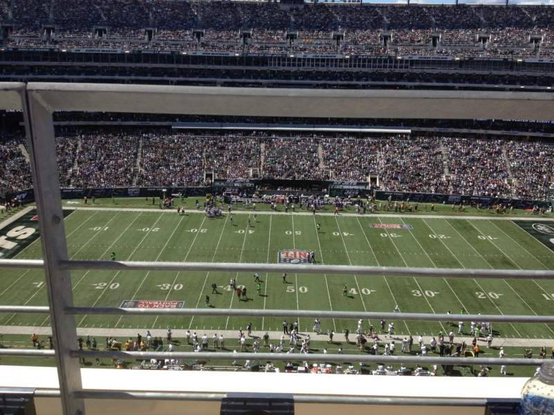 Seating view for MetLife Stadium Section 314 Row 1 Seat 5