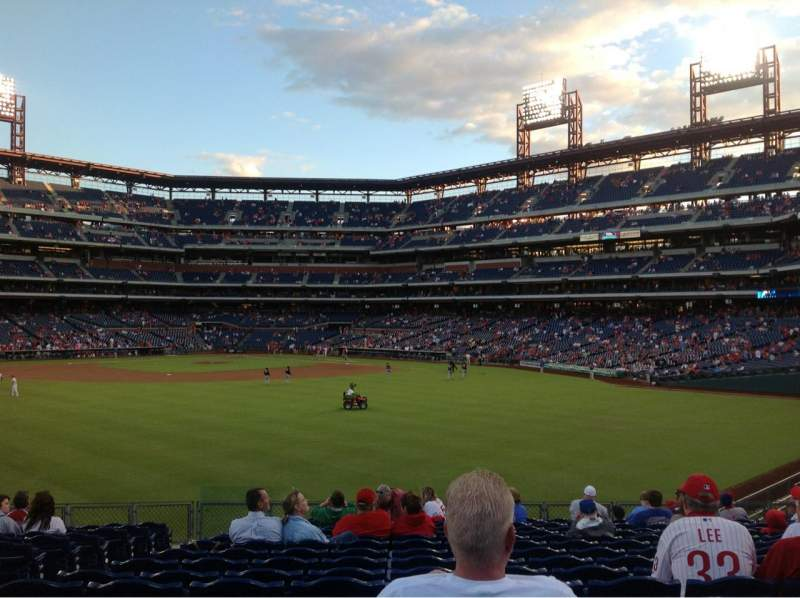 Seating view for Citizens Bank Park Section 147 Row 19 Seat 17