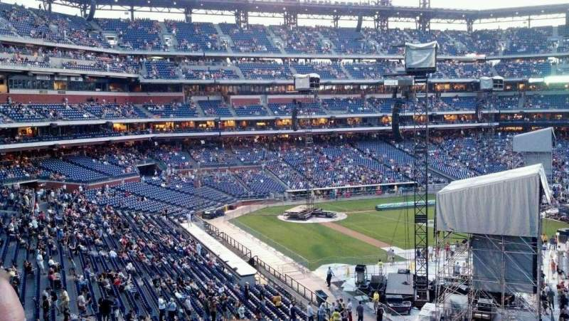Seating view for Citizens Bank Park Section 209 Row 3 Seat 15