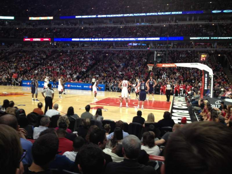 Exterior: United Center, Section 110, Row 5, Home Of Chicago