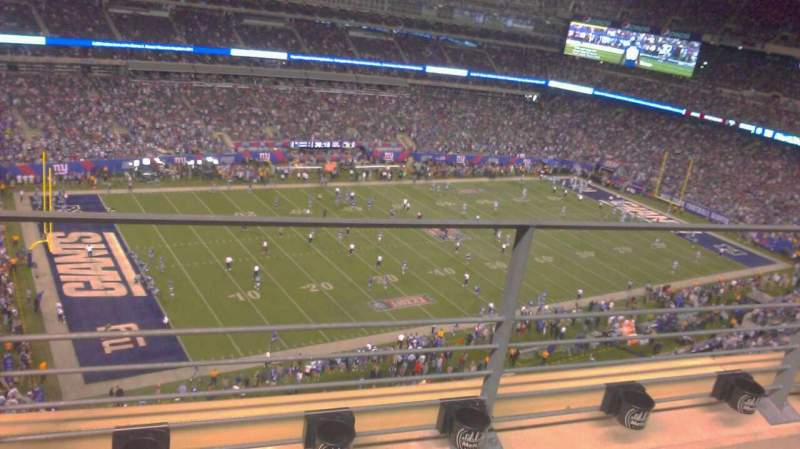 Seating view for MetLife Stadium Section 318 Row 2 Seat 14