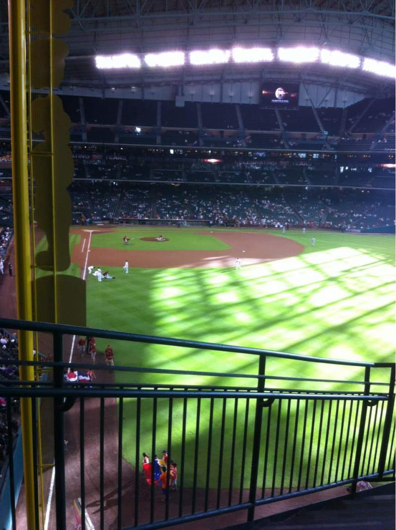 Seating view for Minute Maid Park Section 251 Row 10 Seat 2