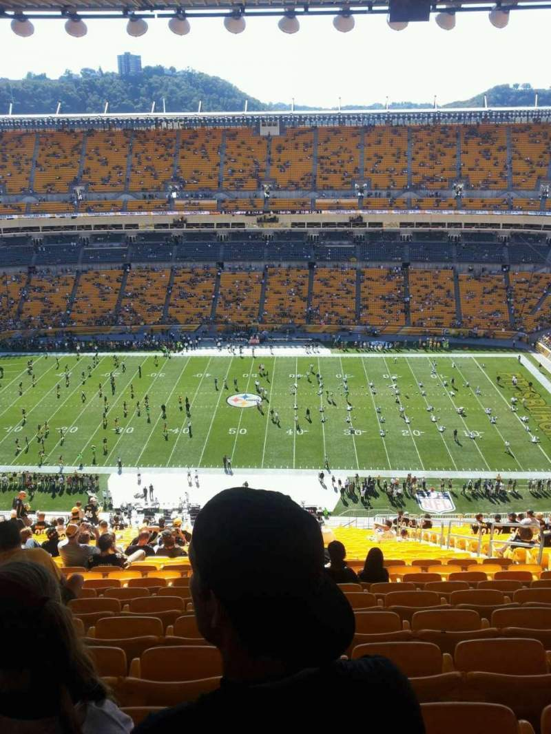 Seating view for Heinz Field Section 511 Row HH Seat 5