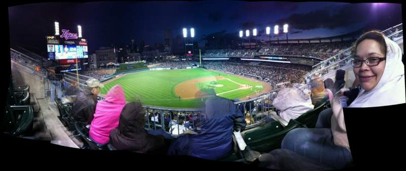 Seating view for Comerica Park Section 336 Row 10 Seat 13