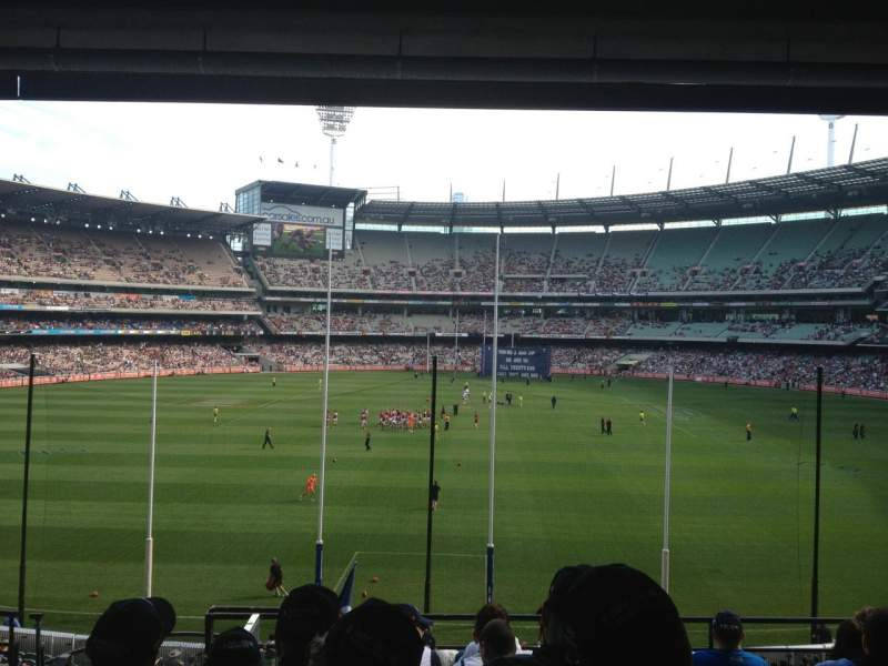 Seating view for Melbourne Cricket Ground Section N3 Row H Seat 13