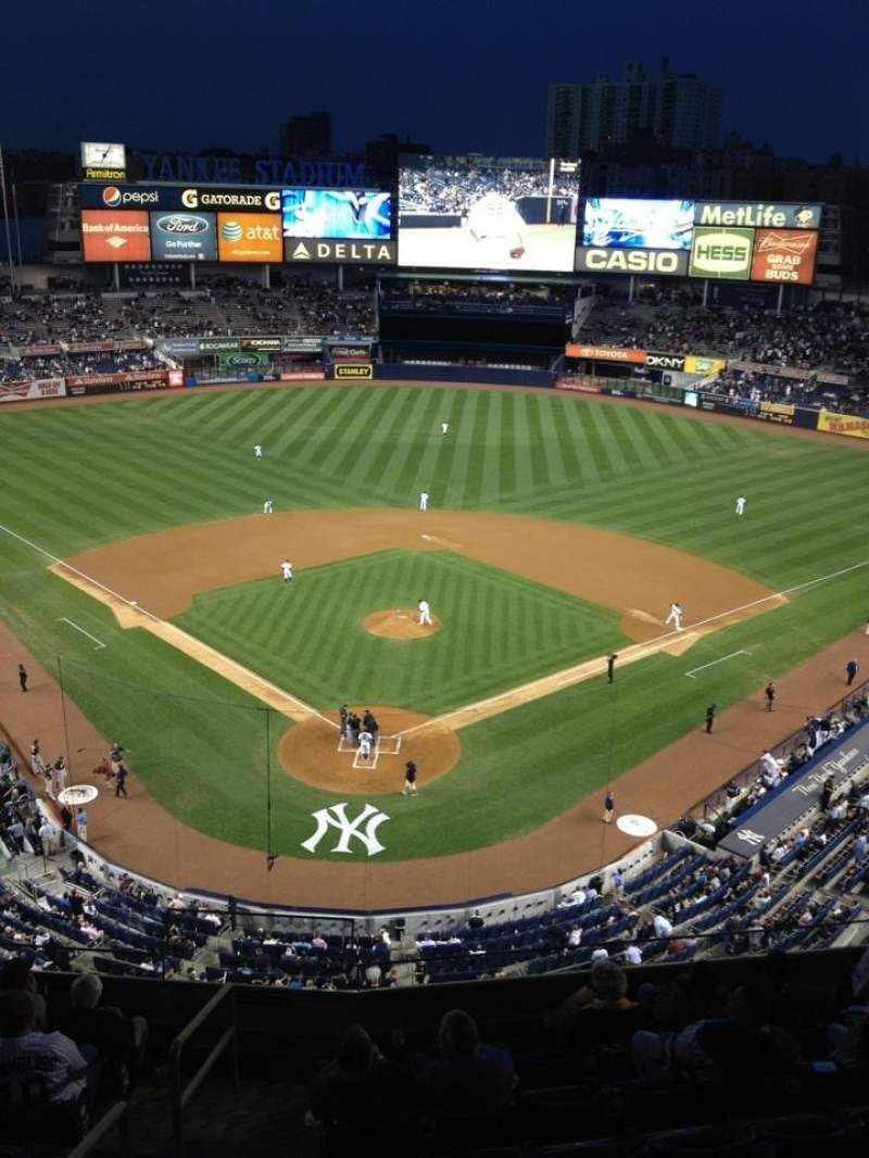 Seating view for Yankee Stadium Section 320a Row 3 Seat 7
