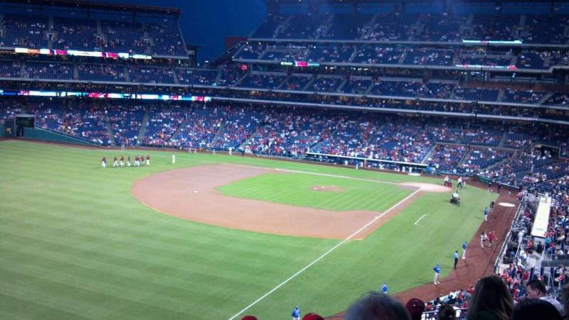 Seating view for Citizens Bank Park Section 236 Row 8 Seat 16