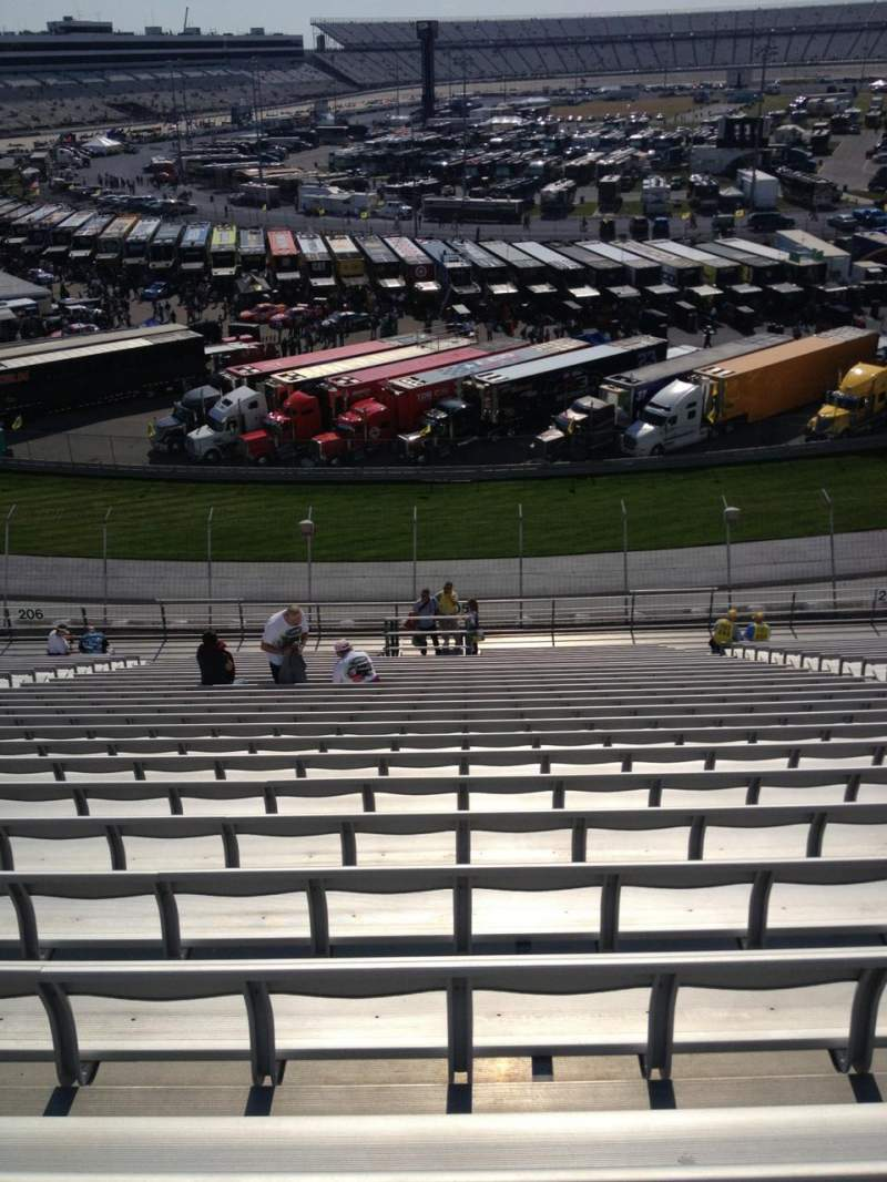 Seating view for Dover International Speedway Section 205 Row 27 Seat 9