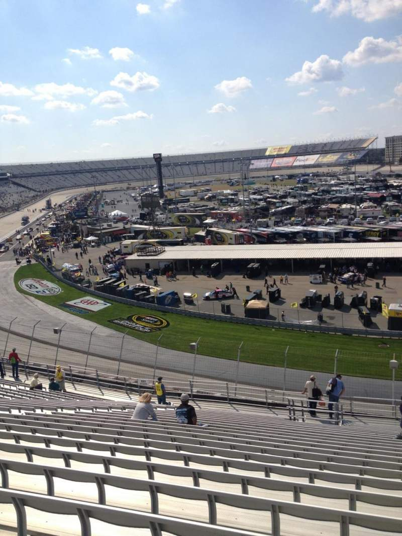 Seating view for Dover International Speedway Section 222 Row 24 Seat 6