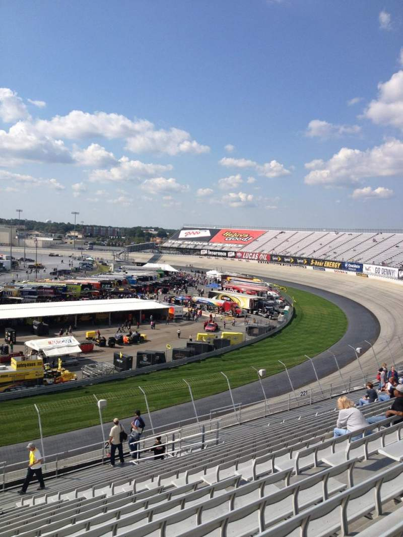 Seating view for Dover International Speedway Section 223 Row 19 Seat 11