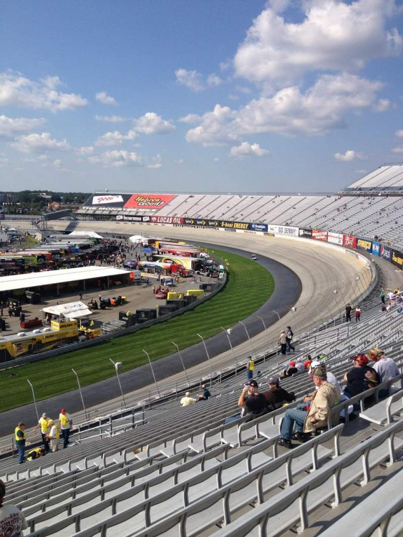 Seating view for Dover International Speedway Section 225 Row 23 Seat 10