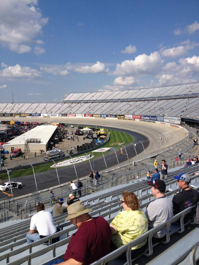 Seating view for Dover International Speedway Section 239 Row 39 Seat 16