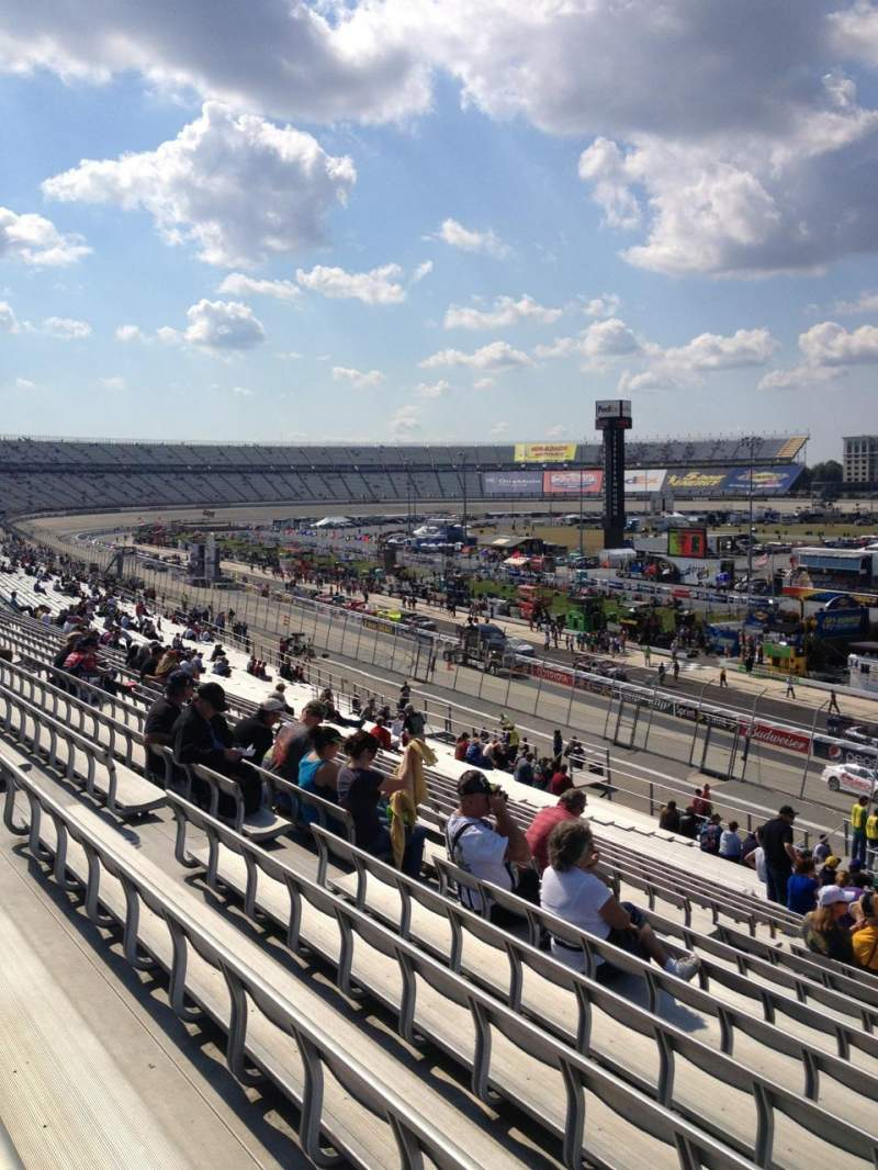 Seating view for Dover International Speedway Section 241 Row 39 Seat 10