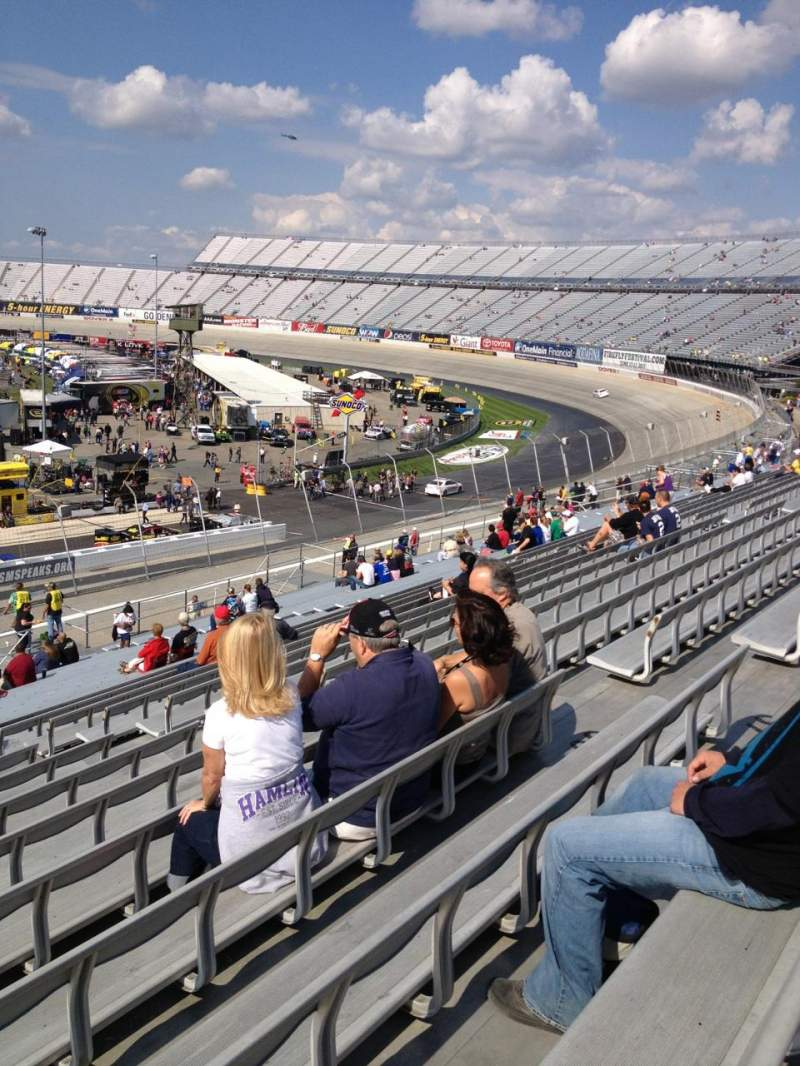 Seating view for Dover International Speedway Section 244 Row 38 Seat 10