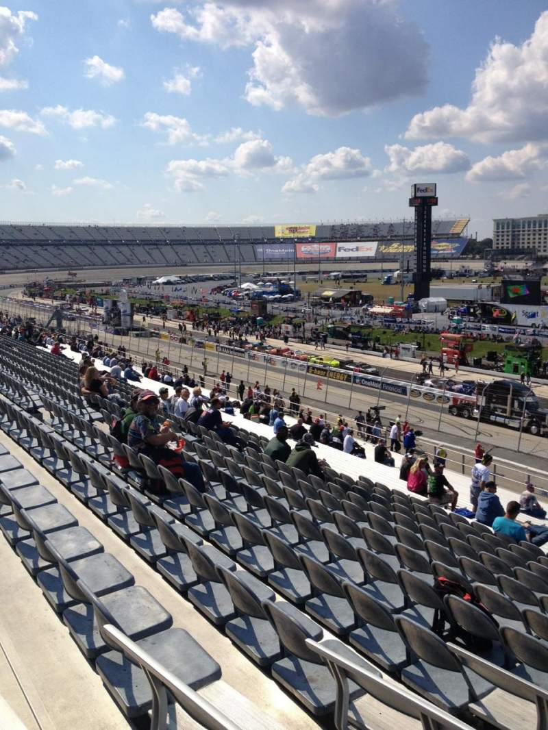 Seating view for Dover International Speedway Section 245 Row 37 Seat 10