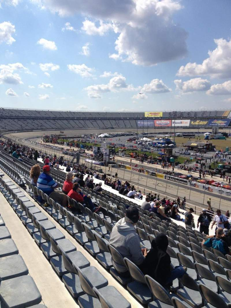 Seating view for Dover International Speedway Section 247 Row 37 Seat 12