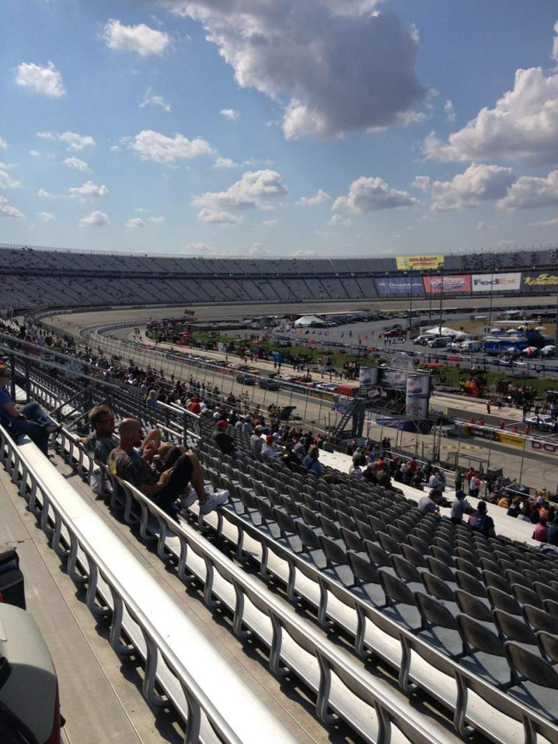 Seating view for Dover International Speedway Section 249 Row 41 Seat 3