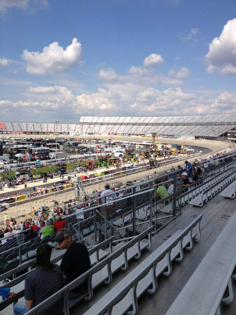 Seating view for Dover International Speedway Section 103 Row 43 Seat 13