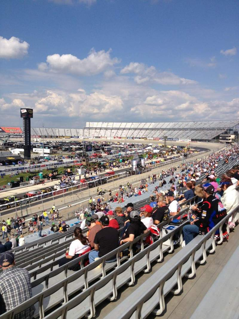 Seating view for Dover International Speedway Section 109 Row 43 Seat 19