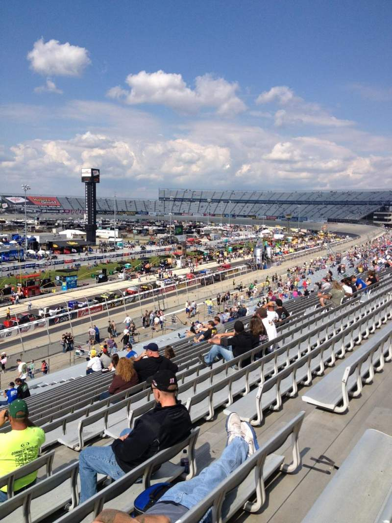 Seating view for Dover International Speedway Section 111 Row 42 Seat 7