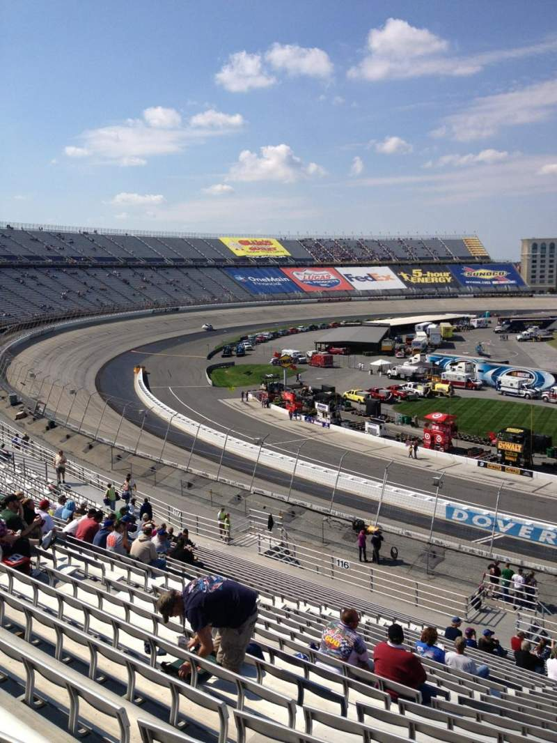 Seating view for Dover International Speedway Section 115 Row 25 Seat 5