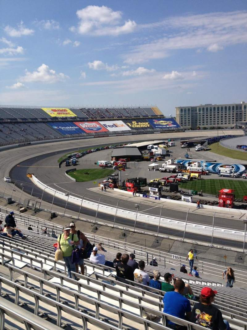 Seating view for Dover International Speedway Section 117 Row 25 Seat 10