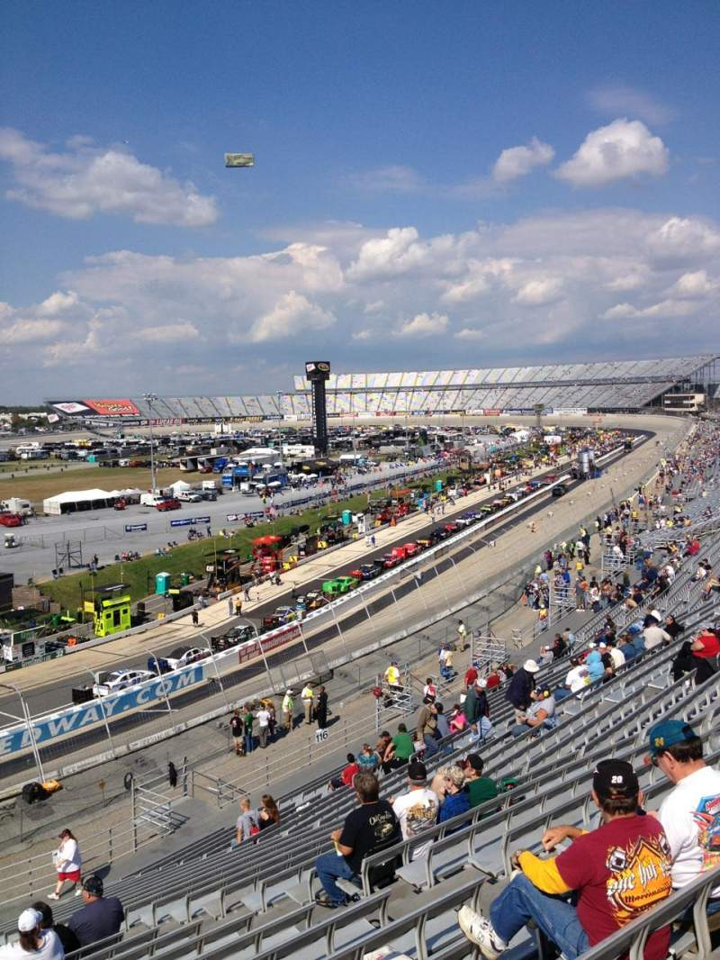 Seating view for Dover International Speedway Section 118 Row 24 Seat 9