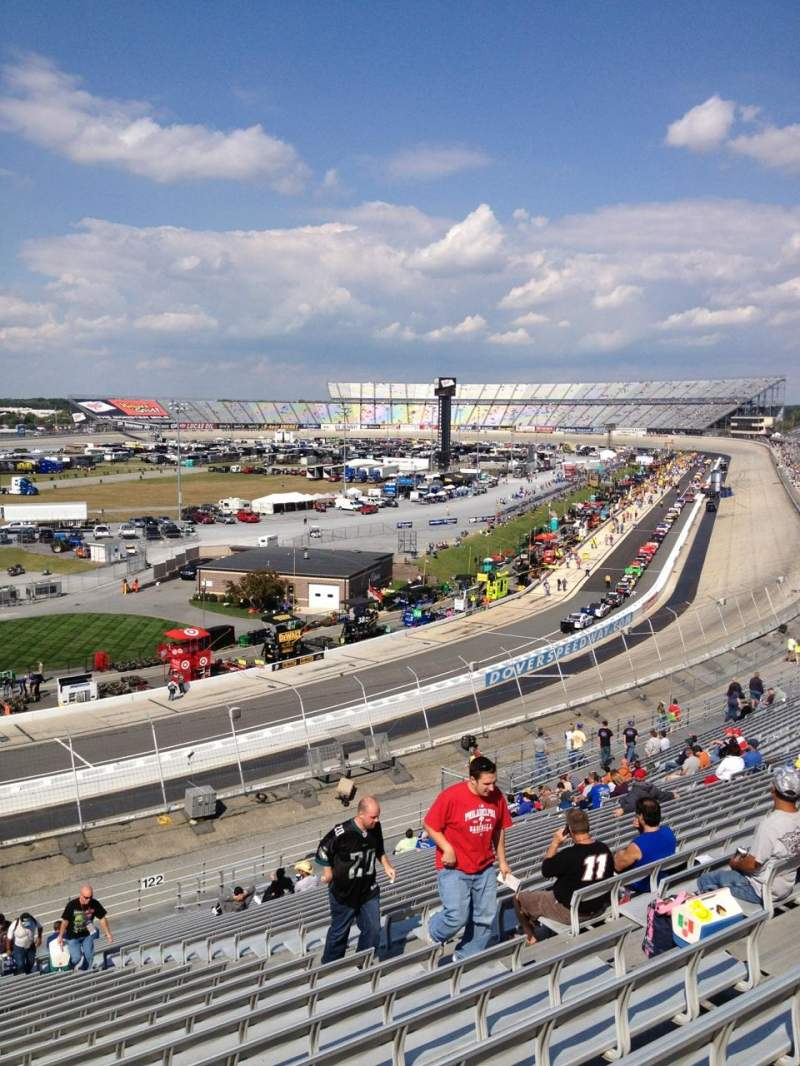 Seating view for Dover International Speedway Section 123 Row 29 Seat 9