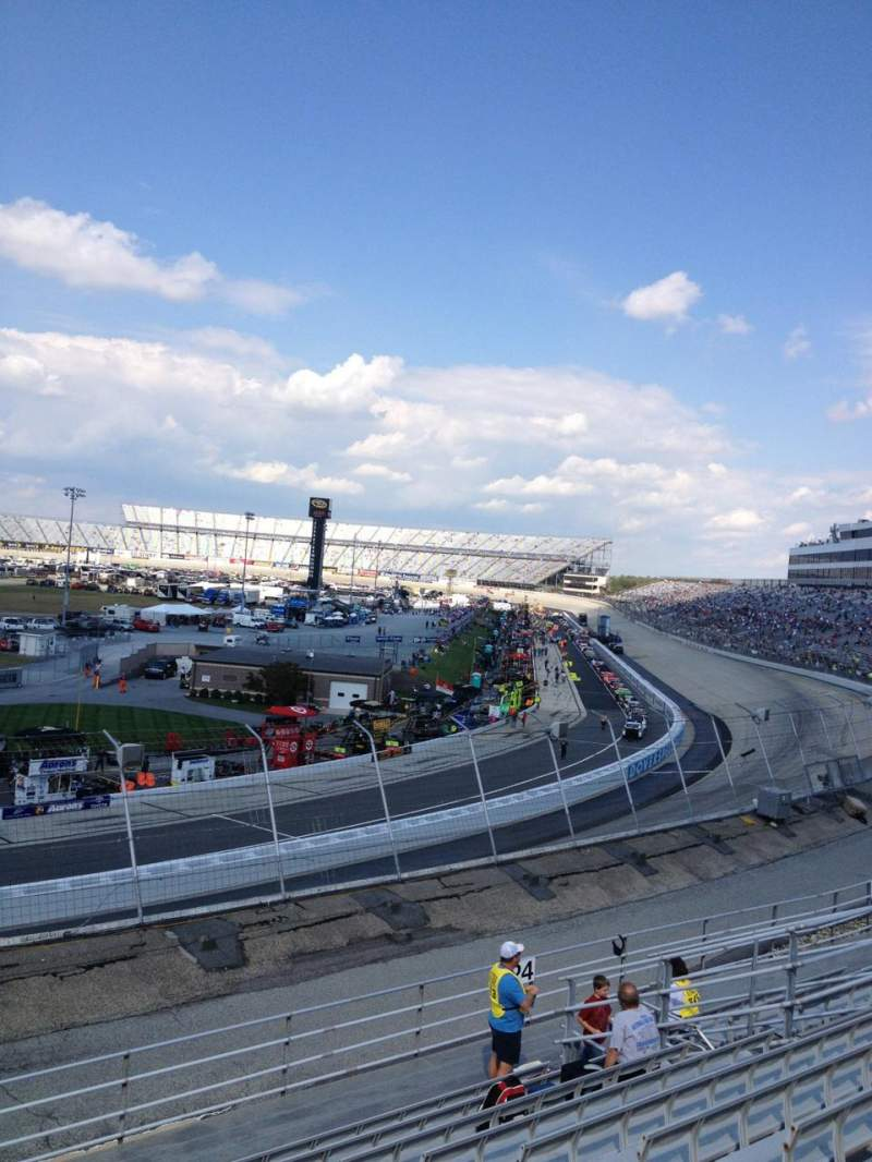 Seating view for Dover International Speedway Section 125 Row 11 Seat 8