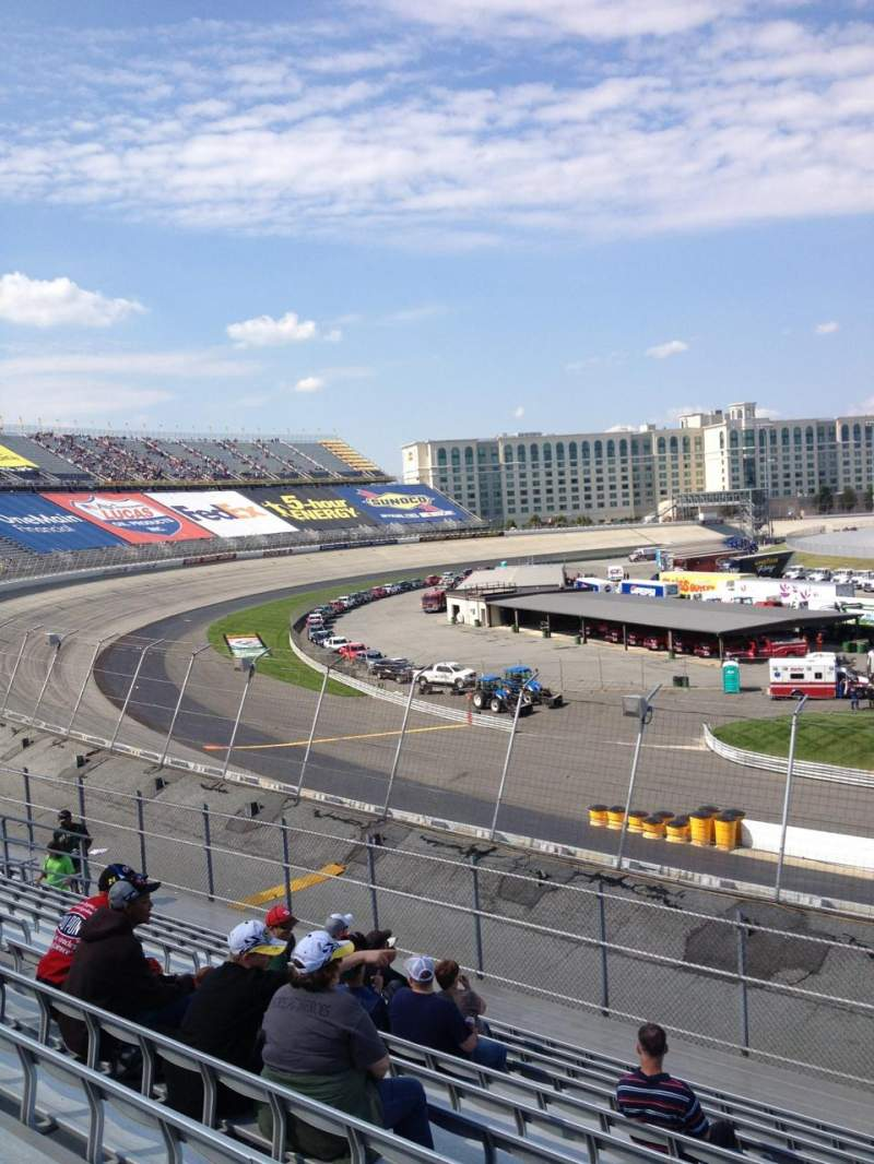 Seating view for Dover International Speedway Section 127 Row 12 Seat 6