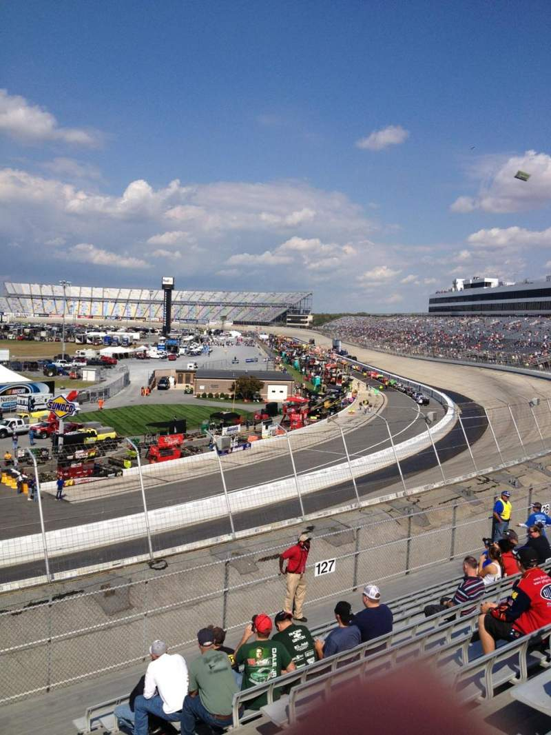 Seating view for Dover International Speedway Section 128 Row 12 Seat 6