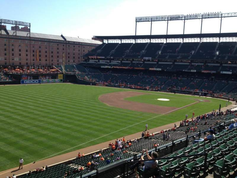 Seating view for Oriole Park at Camden Yards Section 268 Row R Seat 6