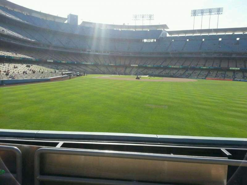 Seating view for Dodger Stadium Section 304PL Row c Seat 13