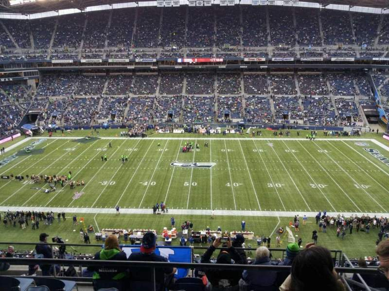 Seating view for CenturyLink Field Section 309 Row h Seat 5