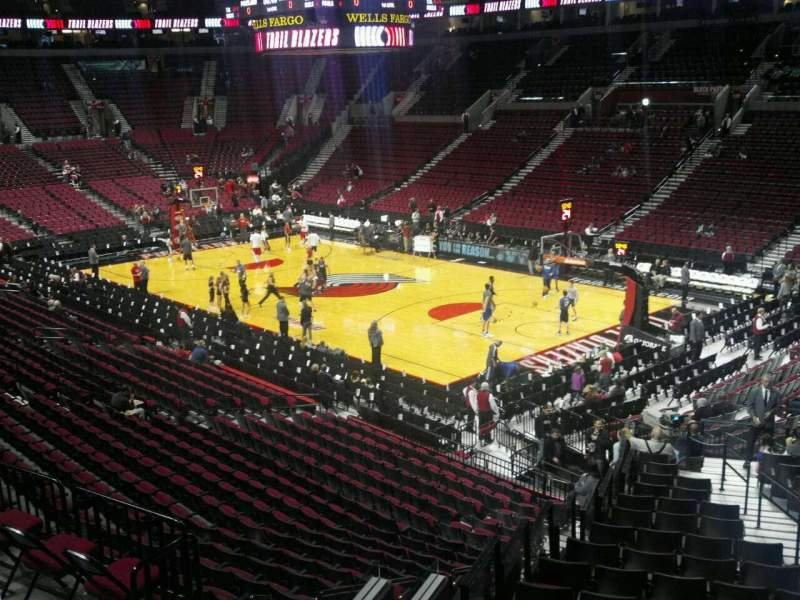 Seating view for Moda Center Section 212 Row G Seat 2