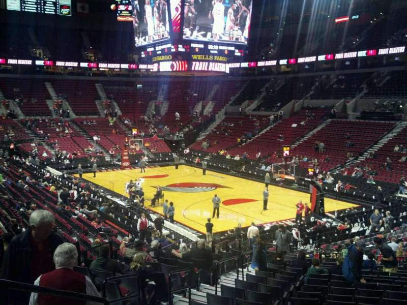 Seating view for Moda Center Section 226 Row E Seat 10