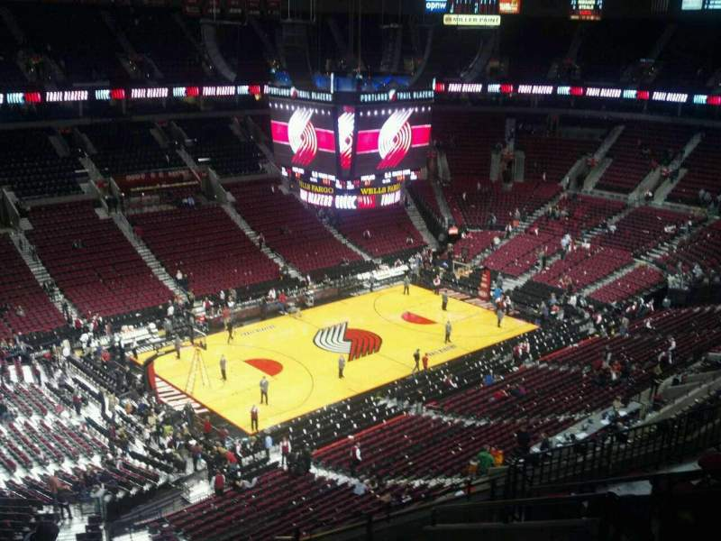 Seating view for Moda Center Section 322 Row K Seat 3