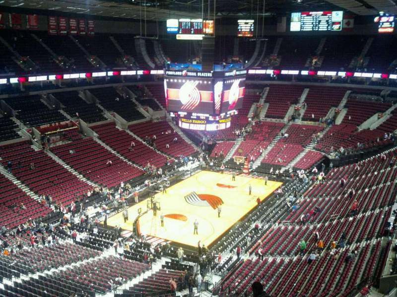 Seating view for Moda Center Section 324 Row J Seat 9