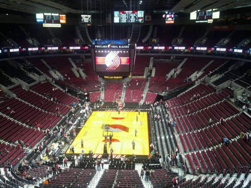 Seating view for Moda Center Section 326 Row G Seat 6
