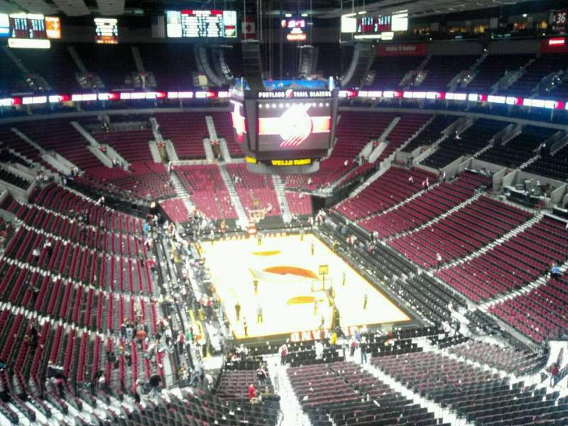 Seating view for Moda Center Section 328 Row H Seat 8