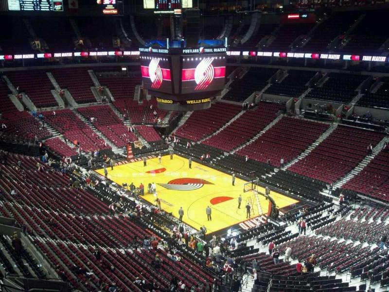 Seating view for Moda Center Section 330 Row G Seat 9