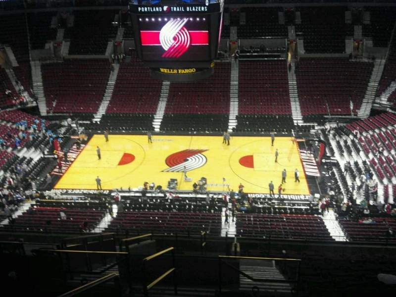 Seating view for Moda Center Section 334 Row O Seat 16