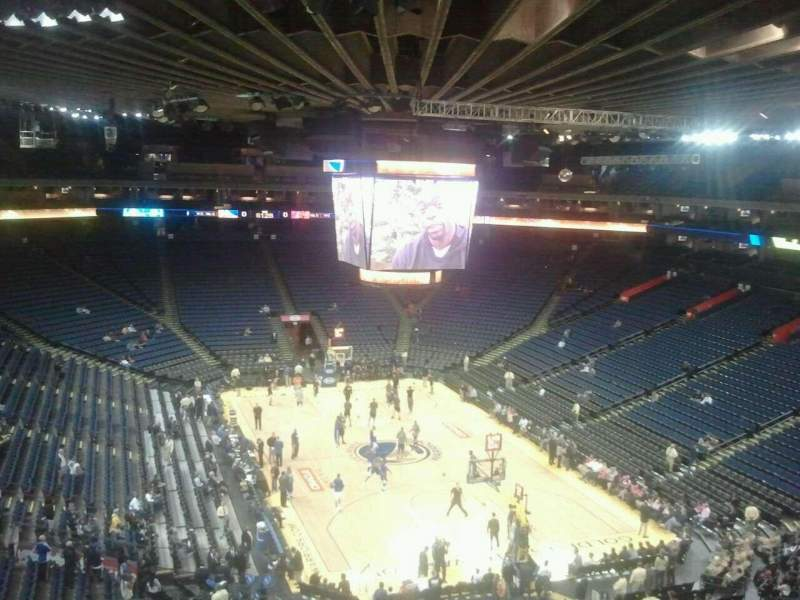 Seating view for Oracle Arena Section 226 Row 1 Seat 6
