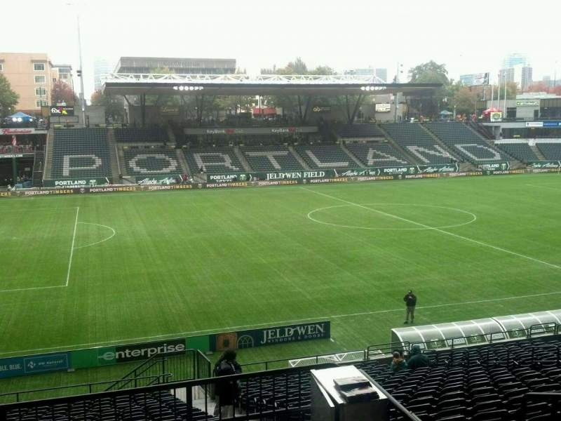 Seating view for Providence Park Section 215 Row C Seat 2