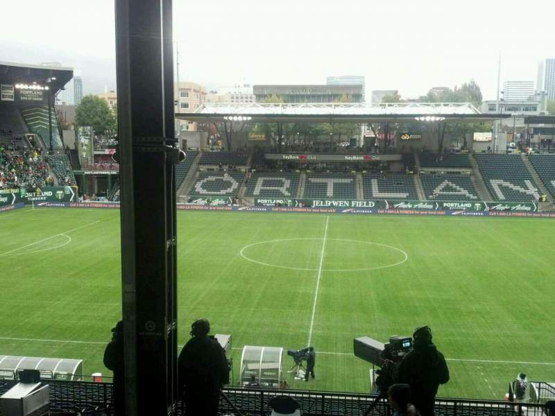 Seating view for Providence Park Section 218 Row G Seat 8