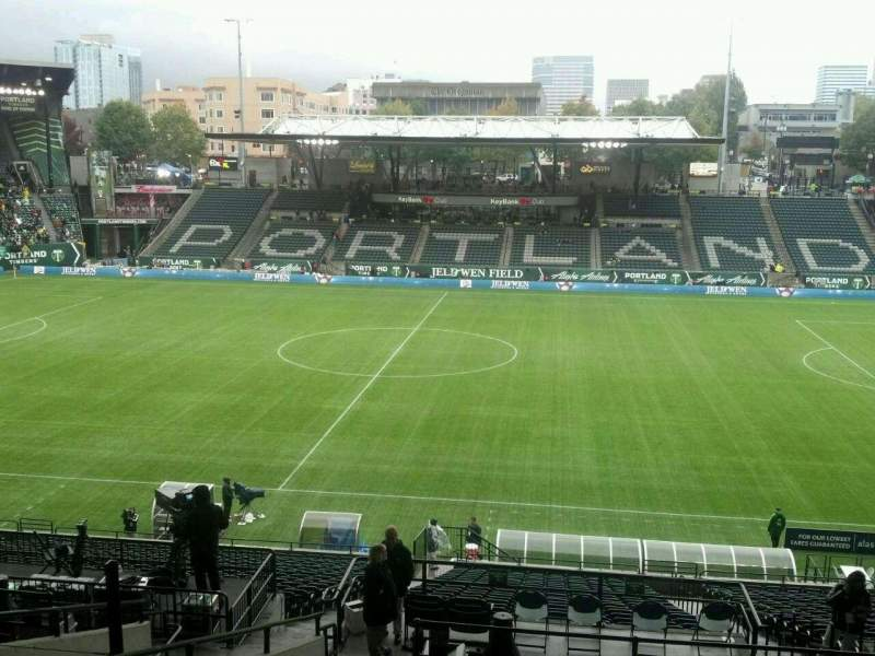 Seating view for Providence Park Section 219 Row m Seat 7