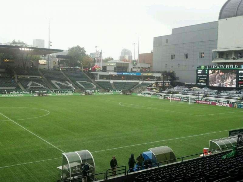 Seating view for Providence Park Section 116 Row M Seat 10