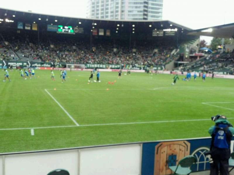 Seating view for Providence Park Section Sd1 Row c Seat 7