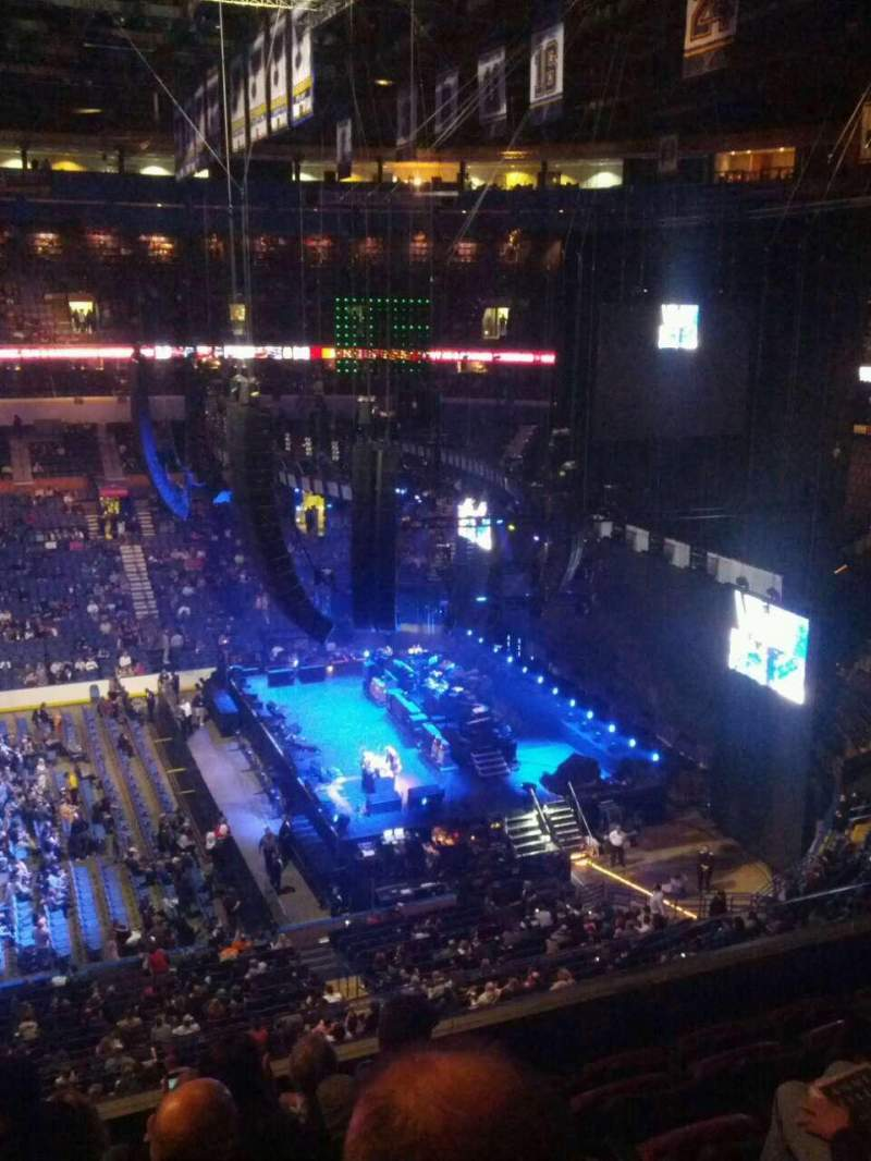 Enterprise Center, section: 302, row: F, seat: 12