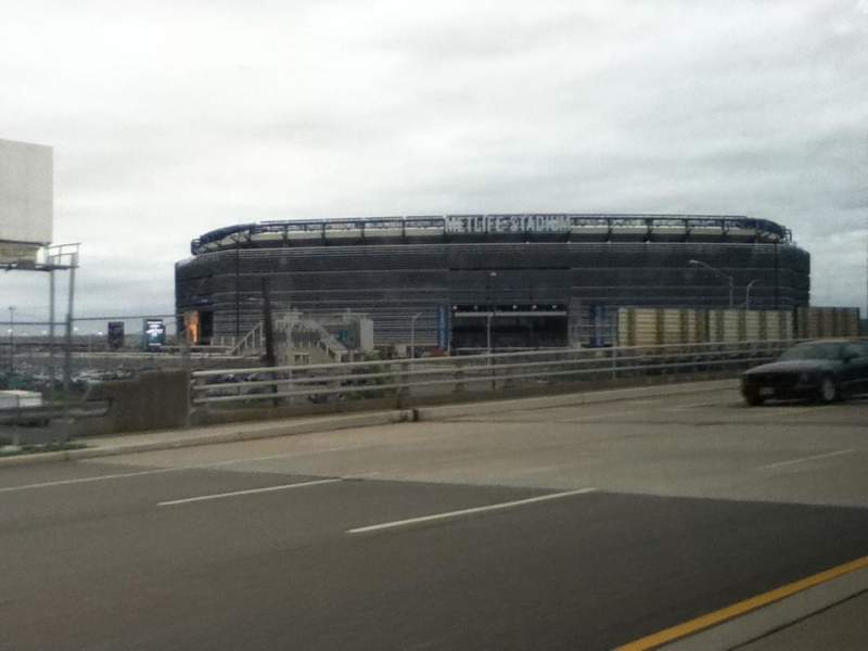 Seating view for MetLife Stadium Section On Our Way Row To See The Seat Jets Win